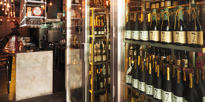 Alcohol Area of BAM! Restaurant on Tras Street in Tanjong Pagar, Singapore