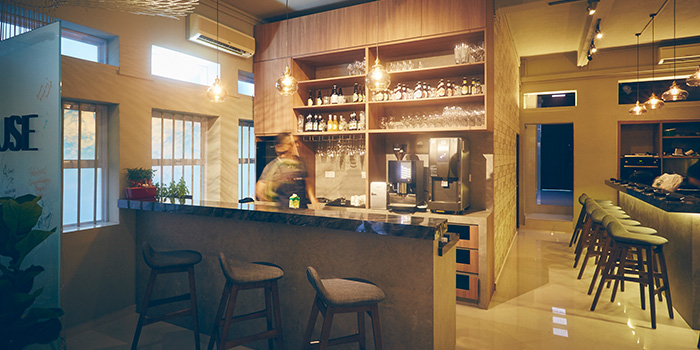 Bar Area of A*MUSE Omakase in Tiong Bahru, Singapore