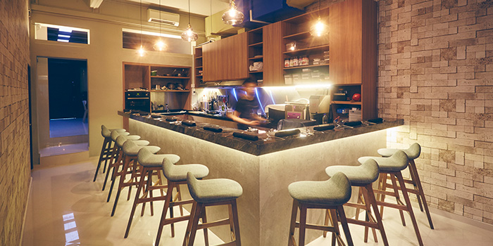 Dining Area of A*MUSE Omakase in Tiong Bahru, Singapore