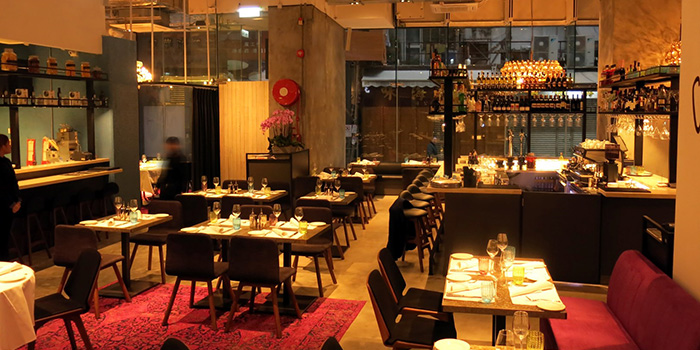 Dining Area of Va Bene, Sai Ying Pun, Hong Kong