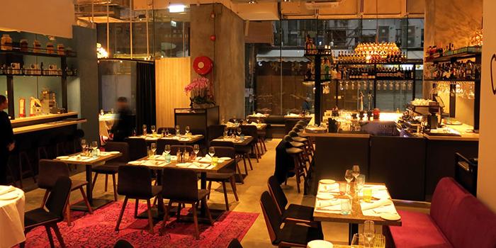 Dining Area of Va Bene, Sai Ying Pun, Hong Kong
