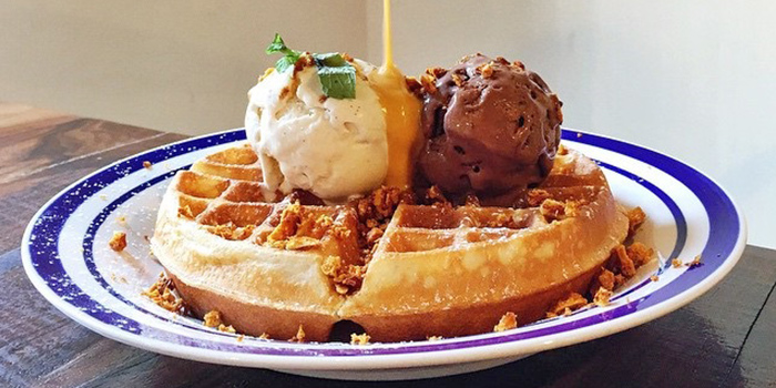 Gold Rush Waffle from Group Therapy Cafe (Katong V) in East Coast, Singapore