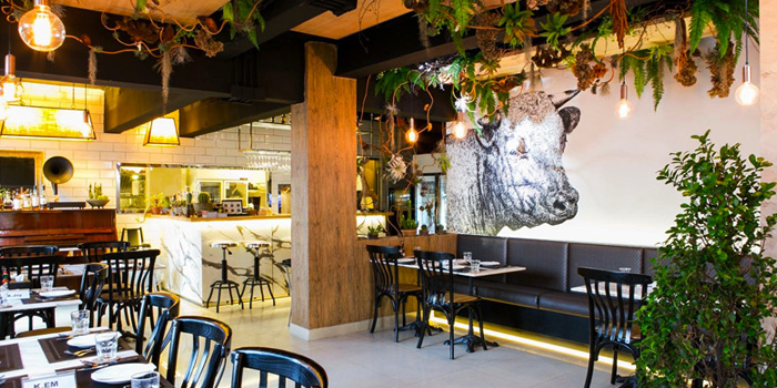 Interior of Meat Bar 31 in Sukhumvit Soi 31, Bangkok