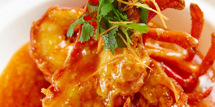 Chilli Lobster from Pince & Pints Restaurant and Bar in Duxton, Singapore