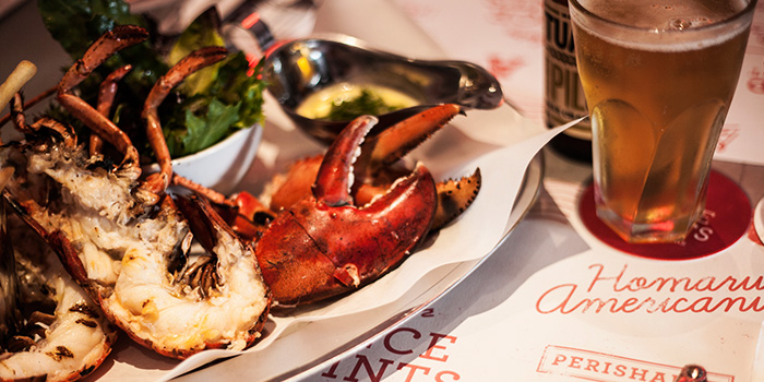 Grilled Lobster from Pince & Pints Restaurant and Bar in Duxton, Singapore