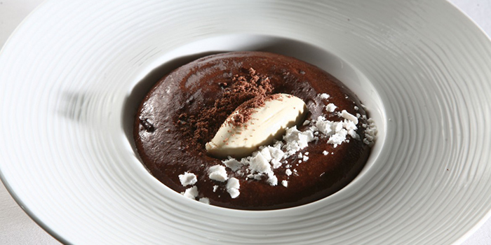 Soft Chocolate with Hazelnut Ice Cream, Va Bene, Sai Ying Pun, Hong Kong