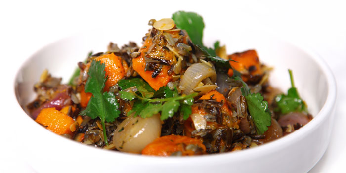 Wild Rice Pumpkin from Pure and Whole (Shanghai Centre) in Nanjing Xi Lu, Shanghai