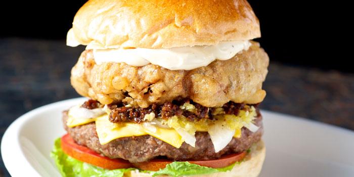 Big Burger from Fat Cow restaurant in Hongmei Lu Laowai Jie, Shanghai