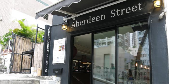 Aberdeen Street Exterior, Central, Hong Kong