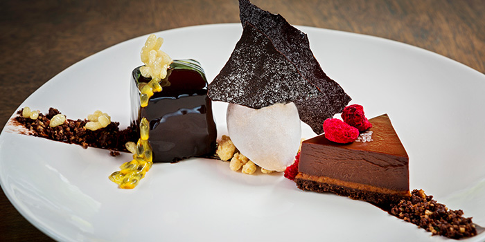 Chocolate Trio from Artemis in Raffles Place, Singapore