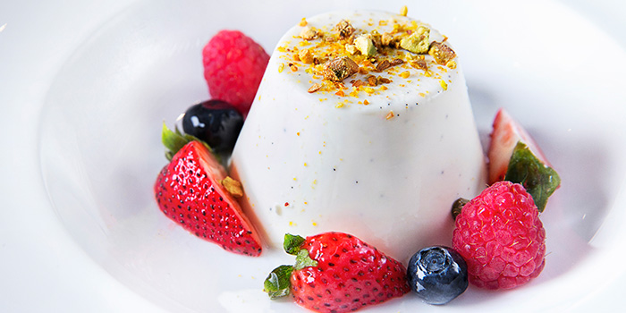 Panna Cotta from Bistecca Tuscan Steakhouse in Robertson Quay, Singapore