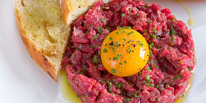 Wagyu Tartare from Bistecca Tuscan Steakhouse in Robertson Quay, Singapore