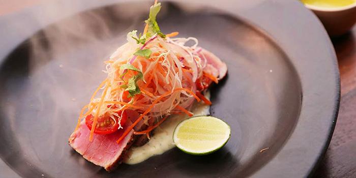 Smoked Sashimi Tuna from Barbacoa in Seminyak, Bali