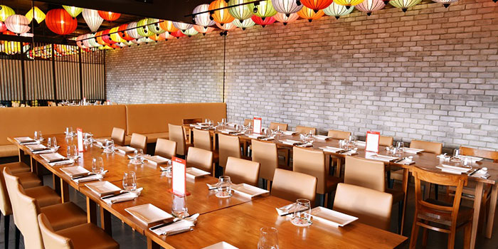 Dining Area in Blue Lotus - Chinese Eating House in Sentosa, Singapore