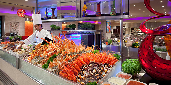 Seafood Spread from Carousel at Royal Plaza on Scotts in Orchard, Singapore
