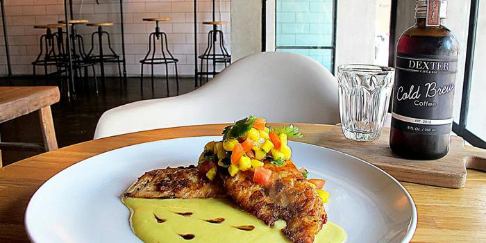 Chicken from Dexter Café & Bar in Sathorn, Bangkok