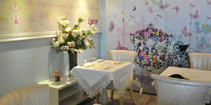 Dining Area, Princess Cafe, Causeway Bay, Hong Kong