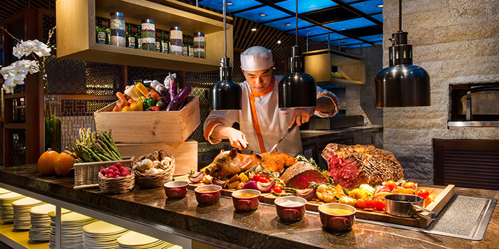 Carvery from Edge at Pan Pacific Singapore in Promenade, Singapore