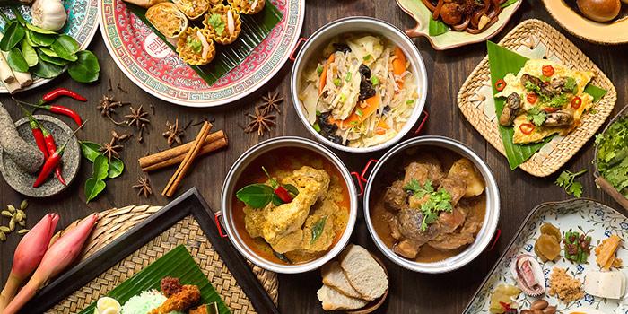 Makan Makan Food Spread from Edge at Pan Pacific Singapore in Promenade, Singapore