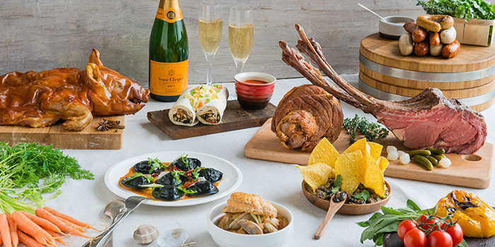 Sunday Champagne Brunch from Edge at Pan Pacific Singapore in Promenade, Singapore