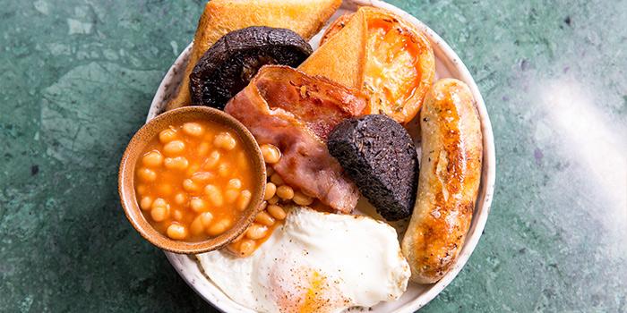 Full English Breakfast, The Fat Pig by Tom Aikens, Causeway Bay, Hong Kong