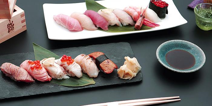 Sushi Set from Ginza Kuroson in Robertson Quay, Singapore