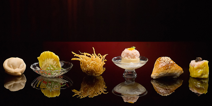 Weekday Dim Sum Highlights from Hai Tien Lo in Pan Pacific Singapore in Promenade, Singapore