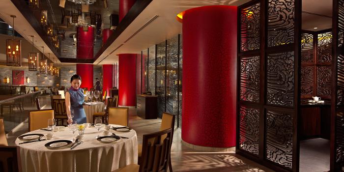Dining Area in Hai Tien Lo in Pan Pacific Singapore in Promenade, Singapore