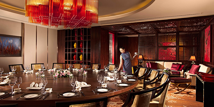 Hai tien lo chope restaurant reservations for Best private dining rooms hong kong