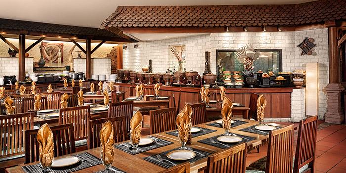 Interior Of Kintamani Indonesian Restaurant At Furama RiverFront In Outram Singapore