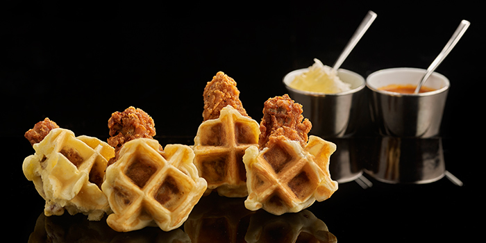 Chicken & Waffles from Manhattan in Regent Singapore, Tanglin, Singapore