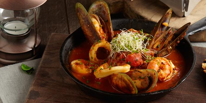 Mixed Seafood Skillet, Something Wild, Wan Chai, Hong Kong