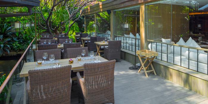 Our Door of Suan Bua Thai Restaurant at Central Plaza Ladprao, Bangkok