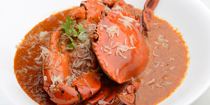 Pomelo Crab from Blue Lotus - Chinese Eating House in Sentosa, Singapore