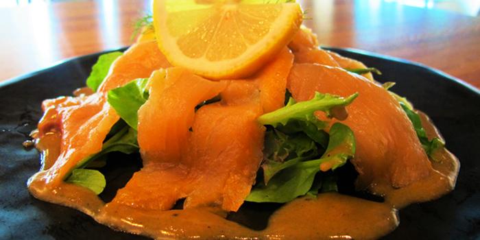 Smoked Salmon from Dexter Café & Bar in Sathorn, Bangkok