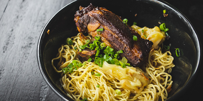 Pork Ribs Noodles from WANTON in Chinatown, Singapore