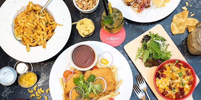 Food Spread from REDPAN at Marina Square in Promenade, Singapore