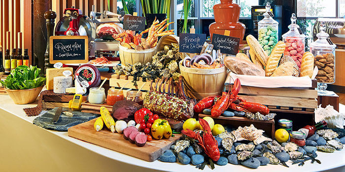 Buffet Spread from 10 at Claymore at Pan Pacific Orchard in Orchard, Singapore