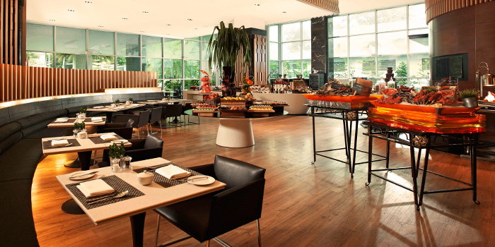 Interior of 10 at Claymore at Pan Pacific Orchard in Orchard, Singapore