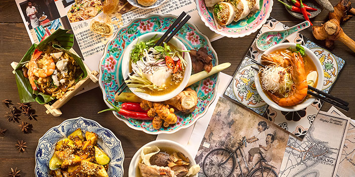 Penang Buffet from 10 at Claymore at Pan Pacific Orchard in Orchard, Singapore