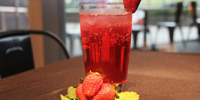 Strawberry Drink from 99 Bistro & Kitchen in Paya Lebar, Singapore
