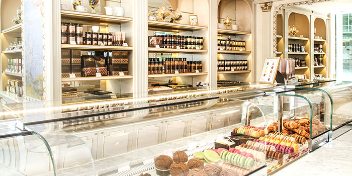 Dessert Counter of Angelina in City Hall, Singapore