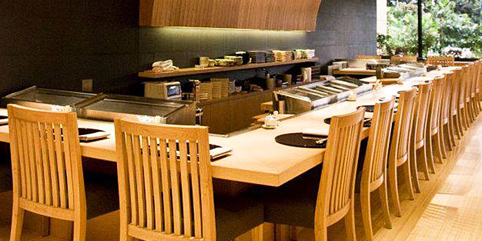 Dining Area of Asuka (JW Marriott) at JW Marriott Jakarta in Kuningan, Jakarta