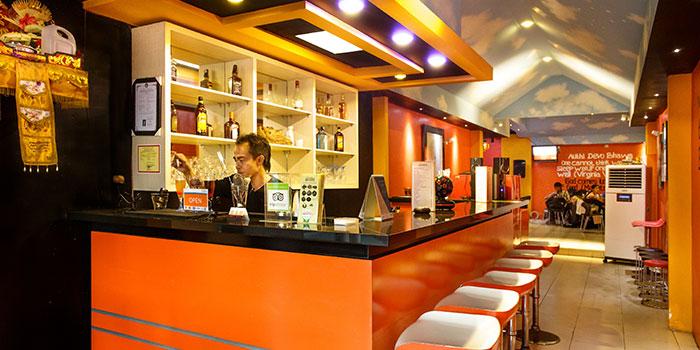 Interior (2) of Atithi Indian Contemporary Resto & Bar in Kuta, Bali