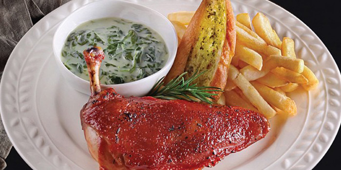 BBQ Chicken Ranch Platter from B
