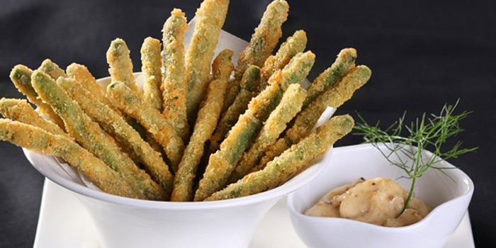 Green Bean Fries from B