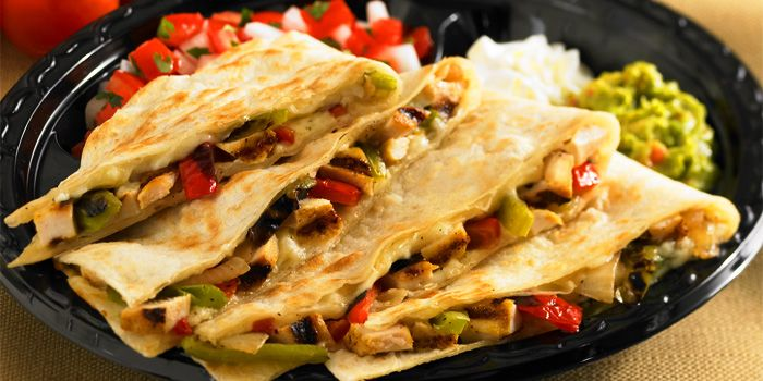 Quesadillas from Baja Fresh Mexican Grill (The Sail) in Marina Bay, Singapore