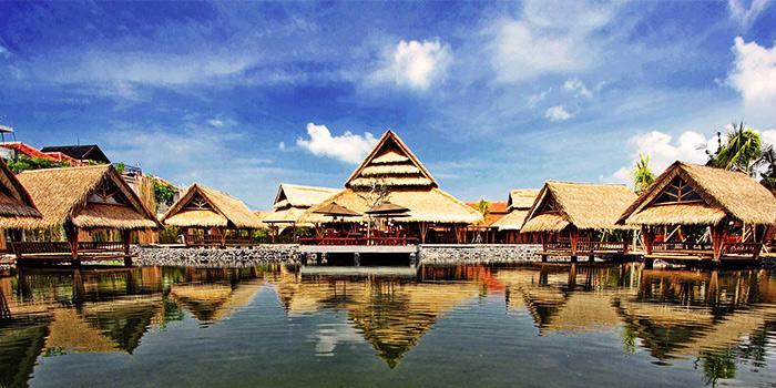 Outdoor Area of Bale Udang (Kuta) in Kuta, Bali