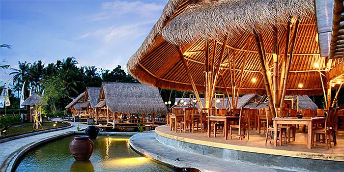 Main Dining Area of Bale Udang (Ubud) in Ubud, Bali