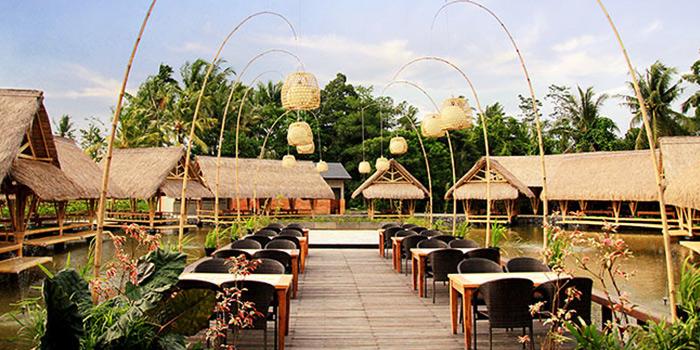 Outdoor Area of Bale Udang (Ubud) in Ubud, Bali